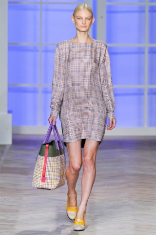 Платье рубашка весна-лето 2012