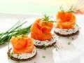 Бутерброды с красной рыбой — рецепты
