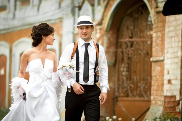 Свадьба в стиле Чикаго 30-х годов