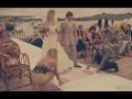 Красочная свадебная церемония «как в кино»