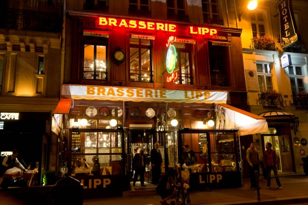Кафе «Брассери-Липп» (Cafe Brasserie-Lipp Paris)