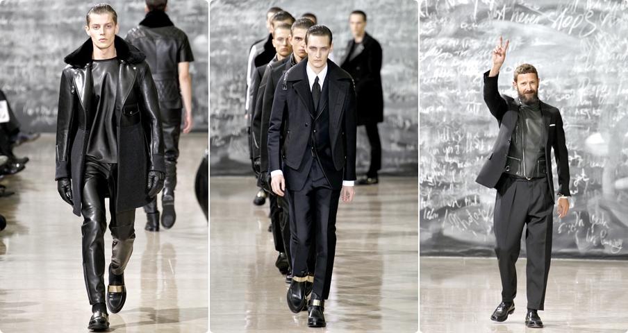 Мужская коллекция одежды «Yves Saint Laurent» зима 2012–2013