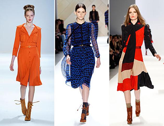 Модные платья 2011 осень-зима