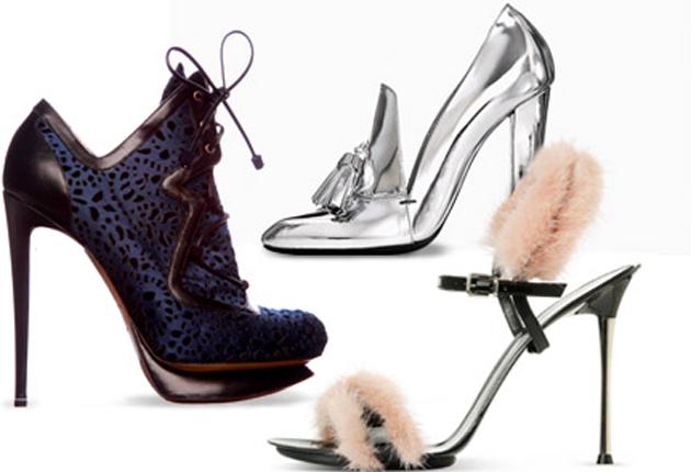 Модные туфли осень 2011