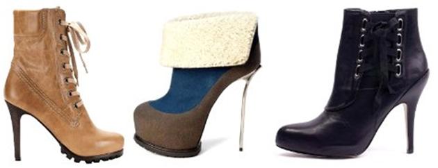 Модные сапоги осень зима 2011-2012