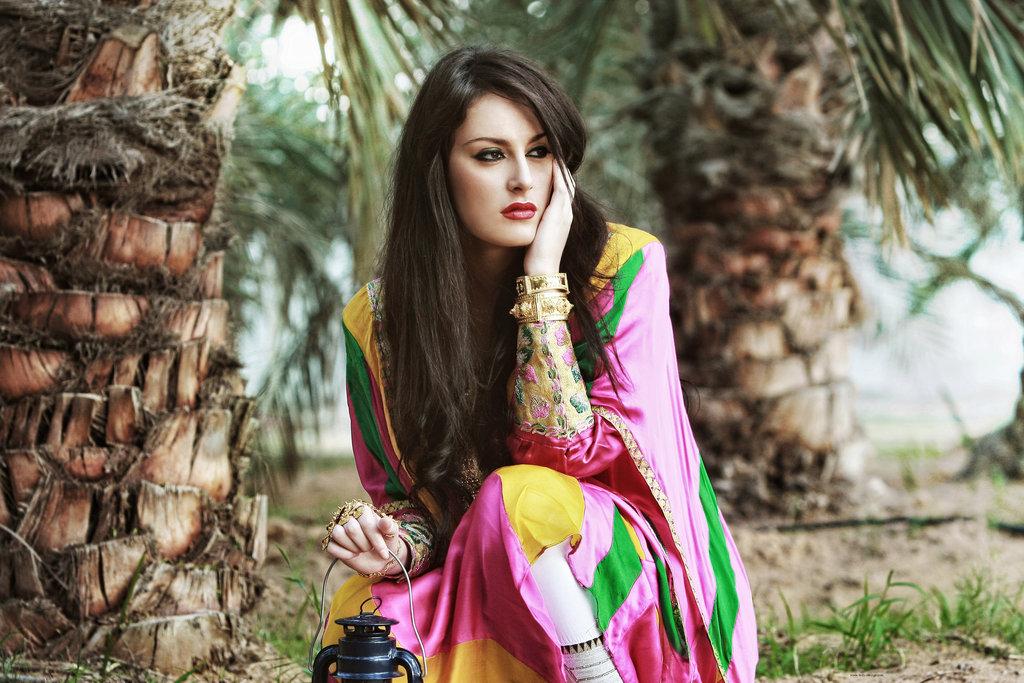арабский (восточный) макияж