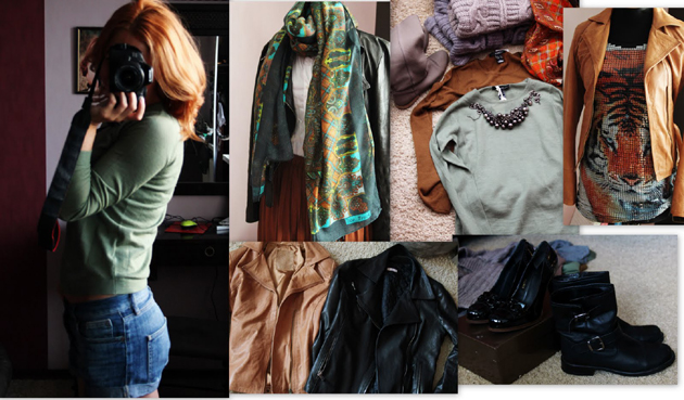 летние вещи в осеннем гардеробе