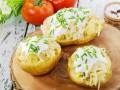 Фаршированный картофель: лучшие рецепты