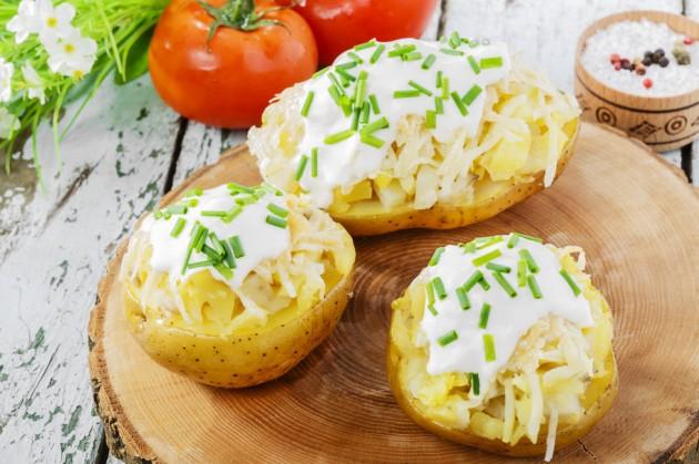 как вкусно приготовить в духовке картофель с курицей