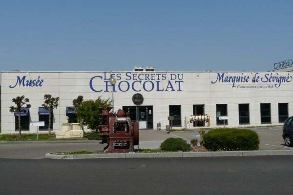 Музей шоколадных тайн (Musée Les Secrets du Chocolat) в Жеспольсеме, Франция
