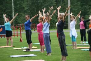 О преимуществах занятий фитнесом в группе