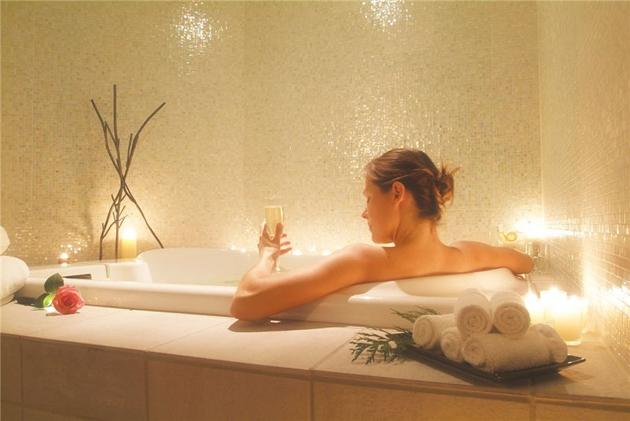 ванны из трав для здоровья кожи