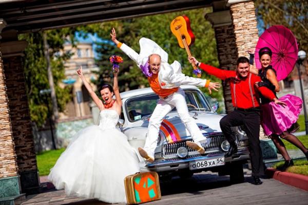 Свадьба в стиле стиляг