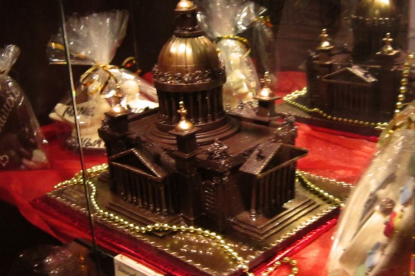 Музей-магазин шоколада в Санкт-Петербурге, Россия