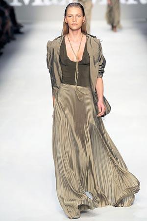 Модная юбка-макси лето 2012 - фасоны и силуэты