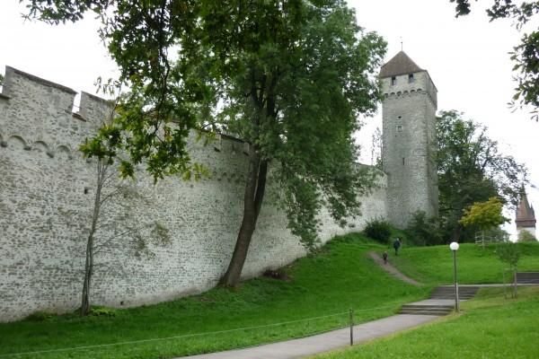 Крепостная стена Музеггмауэр