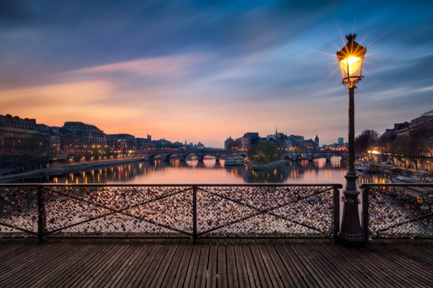 Мост Искусств (Pont des Arts)