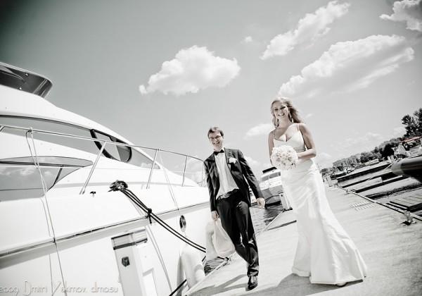 Свадьба на воде фото