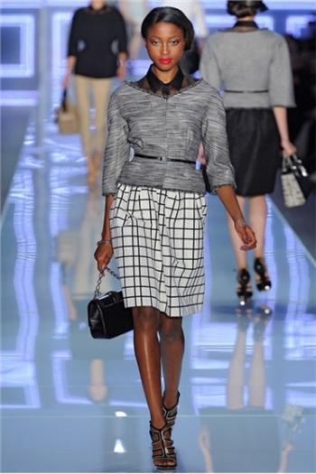 Коллекция женской одежды Dior весна-лето 2012