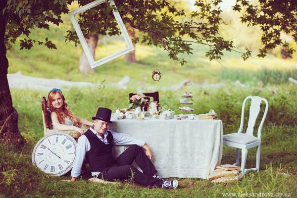 Свадьба Алиса в стране чудес