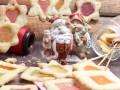 Новогоднее печенье «Стеклышки»