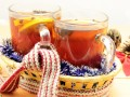 Безалкогольный апельсиновый глинтвейн
