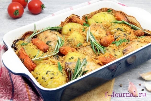 осетрина запеченная в духовке с картошкой рецепт