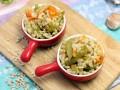 Перловка с овощами (постный рецепт)