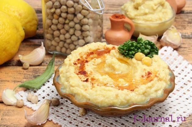 хумус классический рецепт приготовления в домашних условиях из нута