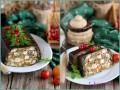 Мясной пирог с баклажанами и курицей в духовке