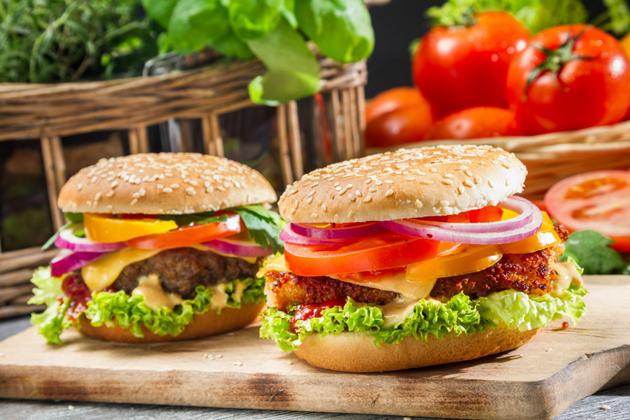 Домашний гамбургер
