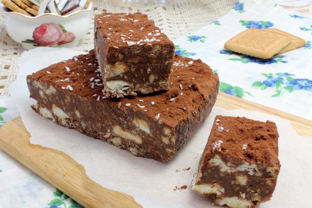 Рецепт шоколадного десерта с фото