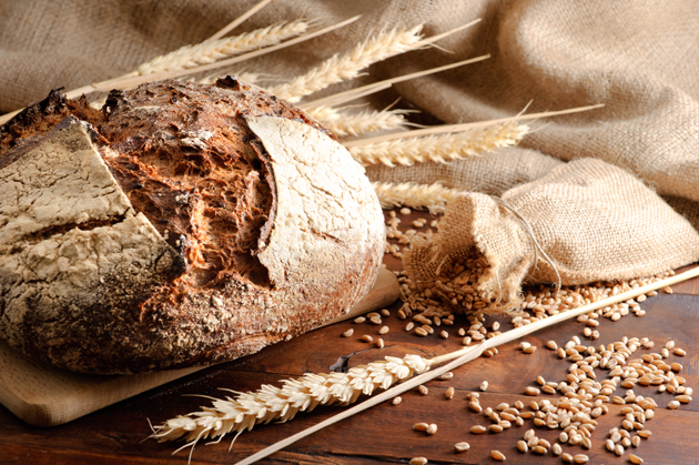 Гречневый хлеб со льном