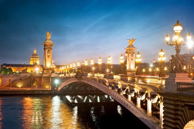 Мост Александра III (Pont Alexandre III)