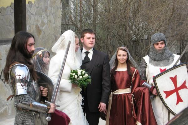 Свадьба Рыцарское Средневековье