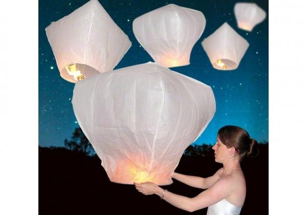 небесные фонарики фото